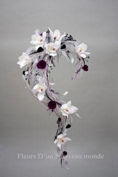 Bouquet de mariée tombant