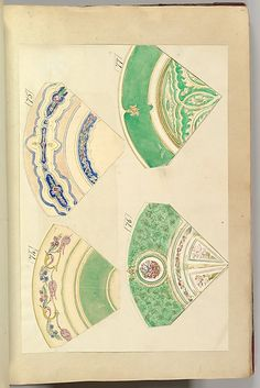 Alfred Henry Forrester [Alfred Crowquill] | Four Designs for Decorated Plates | The Metropolitan Museum of Art