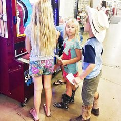 """H.E.B. has something called Buddy Bucks. Every time you shop the kids get a """"buck"""" to put in this machine. And you get points to save for... who knows what... but my kids want it. We are on our way to filling up our Buddy Bucks Book! @heb @cavenders"""