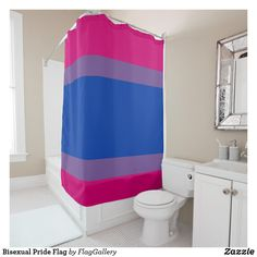 Hot Pink White and Blue Stripes Shower Curtain - shower curtains home decor custom idea personalize bathroom Modern Shower Curtains, Striped Shower Curtains, Custom Shower Curtains, Robins, Transgender, Farmhouse Shower Curtain, Curtain Patterns, Rustic Farmhouse, Decoration