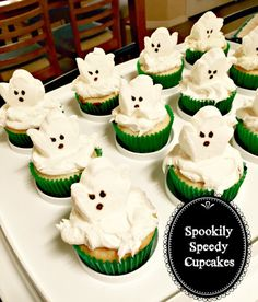 Spookily Speedy Cupcakes | Recipes and Ramblings with the Tumbleweed Contessa
