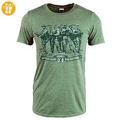 Mens Retro Rescue Team nicht Assassins Predator-T-Shirt Militärgrün XL - Chest 42-44in Militärgrün (*Partner-Link)