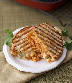 Southwestern Chicken Panini #chicken #sandwich
