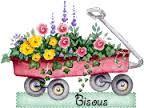 """Résultat de recherche d'images pour """"brouette avec fleurs"""""""