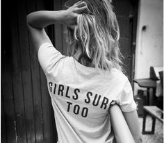 Watershed X SurfGirl T-shirts! Available now at the SurfGirl Beach Boutique
