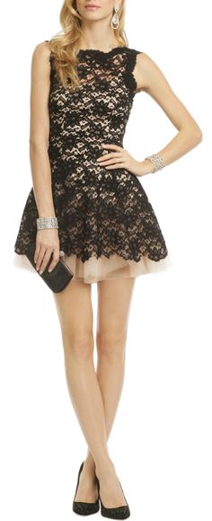 Flirty Lace Dress / nha khanh