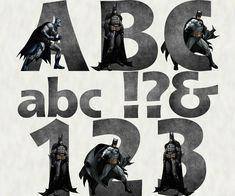 Batman Alphabet & Numbers