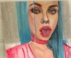 Esmeralda   Behance   Acrylic on Canvas   Instagram #gaiancreatif @gaiancreatif