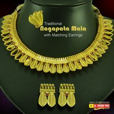 Gold Ornaments, Ornaments Design, Antique Jewelry, Gold Jewelry, Kerala Jewellery, Party Wear, Jewelry Design, Bling, Traditional