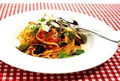 Spaghetti puttanesca | Recept.nu