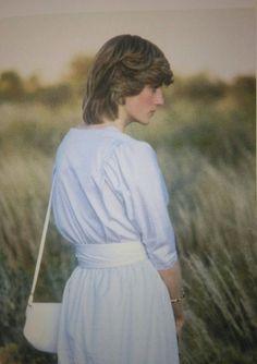 Princess Diana on her Australian Tour, 1982.