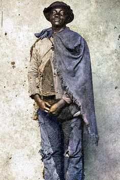 Slave from a plantation near Raleigh, North Carolina during the U.S. Civil War. Colorized by Steve Smith. #slavery #civilwar #plantations #south #northcarolina Colorized Historical Photos, Colorized History, Farm Women, Steve Smith, Oral History, Old Farm, White Image, Cool Eyes, Vintage Images