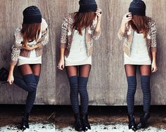 Outfit - Stockings - Fall - Winter
