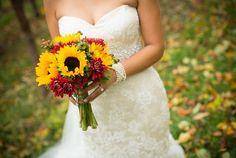 Unique Fall Weddings Wedding Flowers Photos on WeddingWire