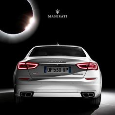 A #Maserati #QuattroporteGTS always shines. With or without the sun…