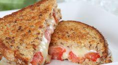 Sanduíche quente de tomate - Bolsa de Mulher