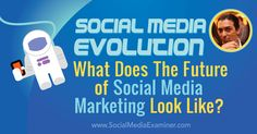 Social Media Evolution: What Does the Future of Social Marketing Look Like? http://www.socialmediaexaminer.com/social-media-evolution-what-does-the-future-of-social-marketing-look-like-with-brian-solis/