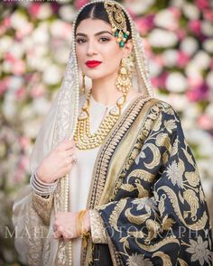 "14k Likes, 107 Comments - Maha Noor (@mahasphotography) on Instagram: ""Gorgeous Hermaine Khan on her Nikah <3 MUA bride herself! @hermainekhan #mahasphotography…"""