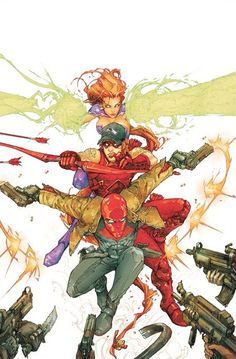 Red Hood and the Outlaws by Kenneth Rocafort