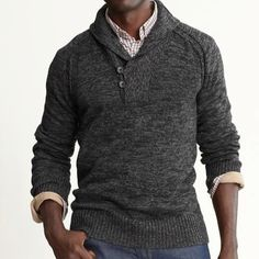 never seen a sweater like this but i like it...