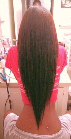 Long Hair Layered Hairstyle