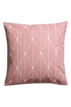 Eläväpintainen tyynynpäällinen - Himmeänroosa - Home All | H&M FI 1