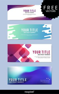 Download Free Modern Business Banner Templates At Rawpixel In Website Banner Templates Free Download - CUMED.ORG