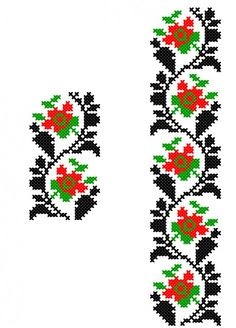 Tiny Cross Stitch, Beaded Cross Stitch, Cross Stitch Borders, Cross Stitch Designs, Cross Stitching, Cross Stitch Patterns, Embroidery Flowers Pattern, Crewel Embroidery, Beaded Embroidery