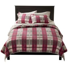 Target...Holiday Plaid Quilt Collection