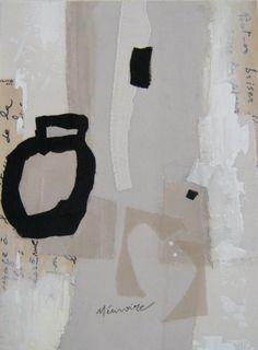 """""""Mémoire"""" Création picturale Véronïk Beaucé 2012"""