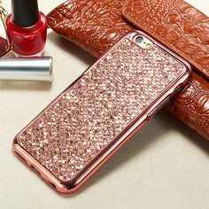 Luxury-Glitter-Bling-Soft-TPU-Case-Cover-For-Apple-iPhone-Samsung-Models