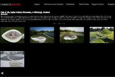 The garden of cosmic speculation: The garden is inspired by science and mathematics, with sculptures and landscaping on these themes, such as Black Holes and Fractals. The garden is not abundant with plants, but sets mathematical formulae and scientific phenomenae in a setting which elegantly combines natural features and artificial symmetry and curves. It is probably unique among gardens, drawing comparisons with a similarly abstract garden in Scotland, Little Sparta. (Wikipedia)