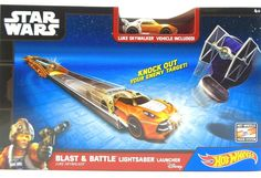 Hot Wheels Star Wars Luke Skywalker Blast Battle Lightsaber Launcher Disney 4+ Hot Wheels Star Wars Luke Skywalker Blast Battle Lightsaber Launcher Disney ages 4+ 1 Vehicle New purchased for resale by Keywebco Video inspected during shipping Shipped fast and free from the USA The item for sale is pictured and described on this page. The stock photo may include additional items for display purpose only - which will not be included. Packages may show wear or be opened if the battery is…