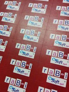 Гаранционни стикери, отпечатани върху прорязана хартия за лесно отлепяне Scrabble, Games, Gaming, Plays, Game, Toys
