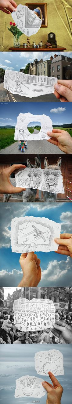 Funny Sketching Reality