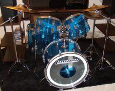 70s Ludwig Vistalite Big Beat