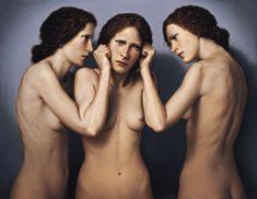 Dino Valls, Spanish painter born in 1959 TRIVIUM  Óleo / lienzo  100 x 130 cm.  1999