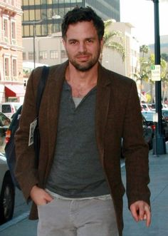 mark ruffalo. Dark expressive eyes, sensitive and funny. Makes you want to cuddle with him, doesn't he?