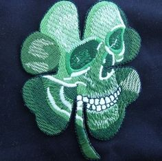 PIRATE SKULL CLOVER TACTICAL US ARMY MORALE MILITARY BADGE MULTICAM VELCRO PATCH