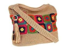 Cartera tipo Bolso Tejida a Crochet Ganchillo - Crochet bags - Смотреть видео бесплатно онлайн Bag Crochet, Crochet Shell Stitch, Crochet Handbags, Crochet Purses, Love Crochet, Crochet Granny, Beautiful Crochet, Double Crochet, Purse Patterns