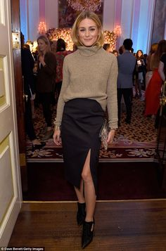 Olivia Palermo at London Fashion Week II