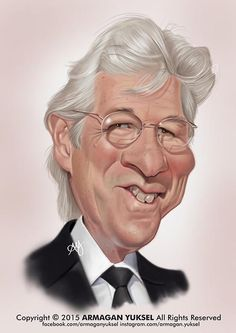 Richard Gere by Armagan Yuksel