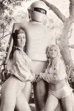 """""""Gort"""" of The Day The Earth Stood Still  Intergalactic Pimp!"""