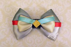Lady and the Tramp Inspired Bow by SmallWorldBows on Etsy, $9.00