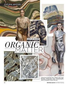 Trends: Fall/Winter - Women's Print and Color Trend Guide F/W Aw 2018, Fashion Forecasting, Organic Matter, Summer Fashion Trends, Color Trends, People, Fashion Design, Fashion Websites, Fashion Stores