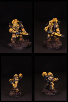 imperial fists captain (horus heresy)