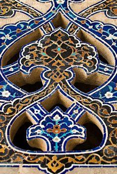Islamic tiles, Iran
