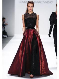 Top Looks from NYFW Fall 2013: Carmen Marc Valvo