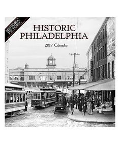Look what I found on #zulily! Historic Philadelphia 2017 Monthly Wall Calendar #zulilyfinds