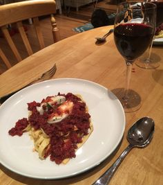 Chorizo bolognese with Buffalo Mozzarella   Donna Hay